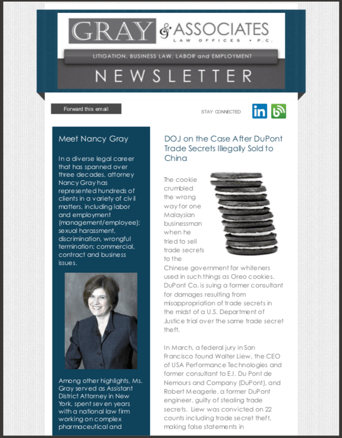 Gray & Associates July 2014 Newsletter