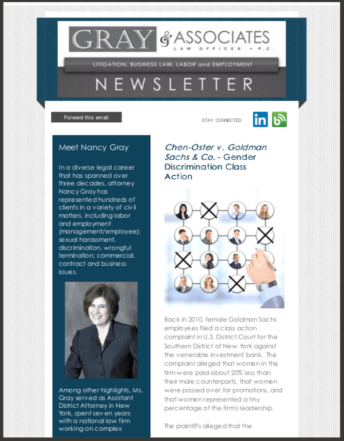 Gray & Associates November 2014 Newsletter