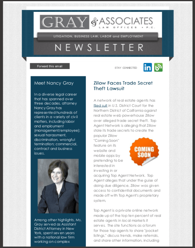 Gray & Associates December 2014 Newsletter