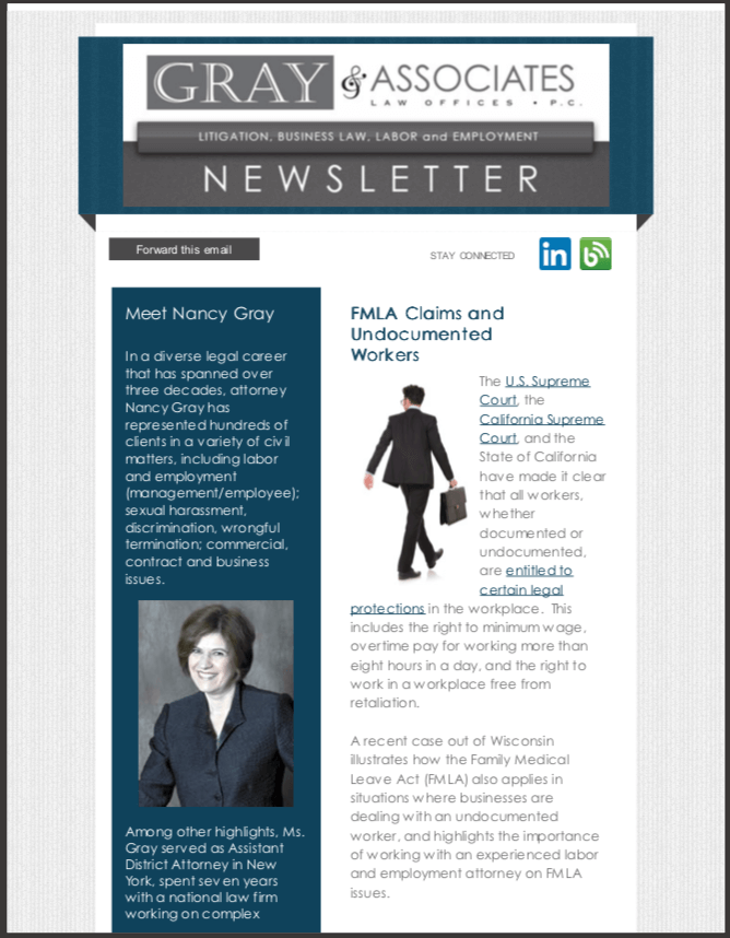 Gray & Associates January 2015 Newsletter