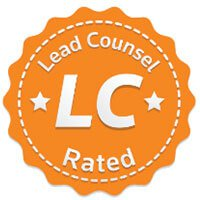 Lead Counsel Rated award badge