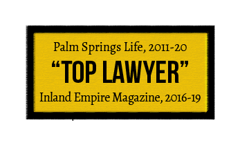 Inland Empire Magazine Top Lawyer Badge
