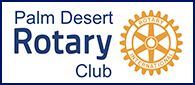 Palm Desert Rotary Club Logo