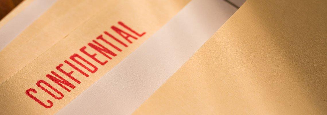 Confidential folders