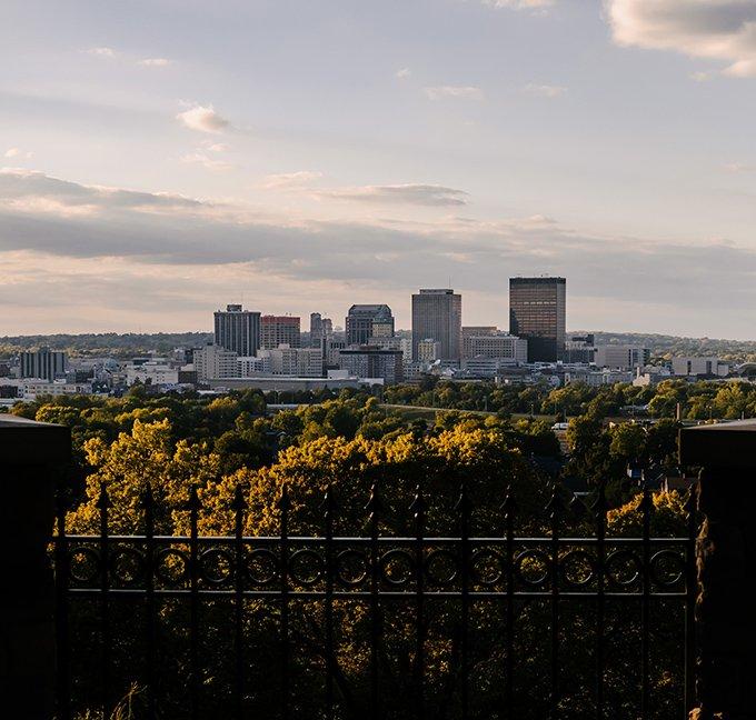 Dayton Ohio landscape