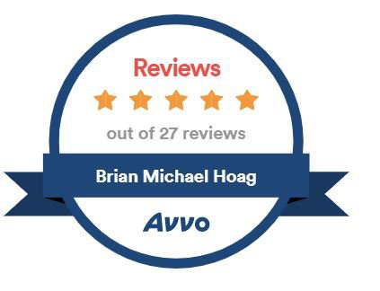 Avvo 27 5-star reviews badge
