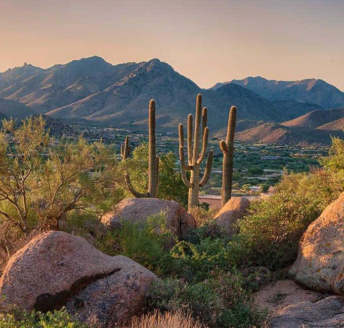 Skyline of Scottsdale, Arizona