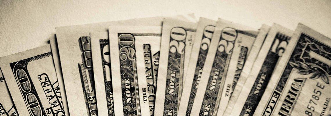 Money in various denominations