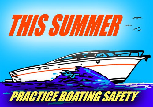Practice Boating Safety graphic