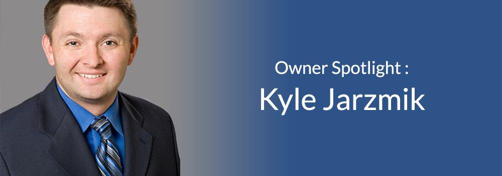 Attorney Kyle Jarzmik on a blank background