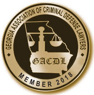 Georgia association of criminal defense lawyers badge
