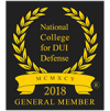 Member of National College for DUI Defense badge