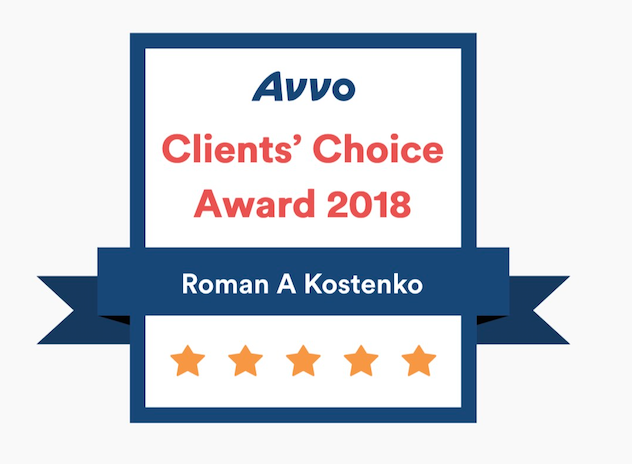 2018 Avvo Clients Choice