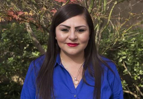 Firm Administrator Anna Guzman Smiling