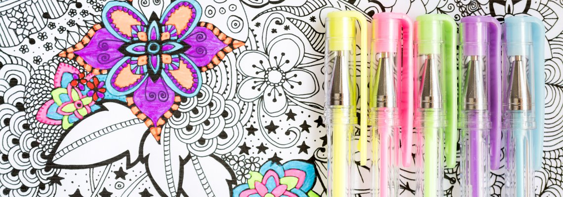 Coloring Picture Art Therapy
