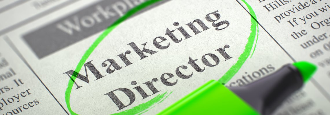 Now Hiring Marketing Director Ad