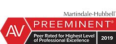 Martindale-Hubbell Preeminent Lawyer Badge