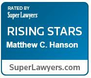 Matthew Hanson Rising Star Badge