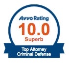 avvo top defense attorney
