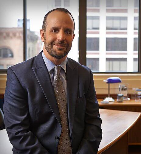 Attorney Craig Mastantuono in a suit
