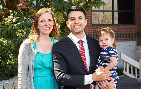 Attorney Moises Medina and Family