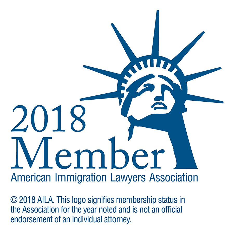 2018 AILA Member badge