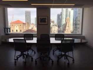 Ron Meyers Office Conference Room