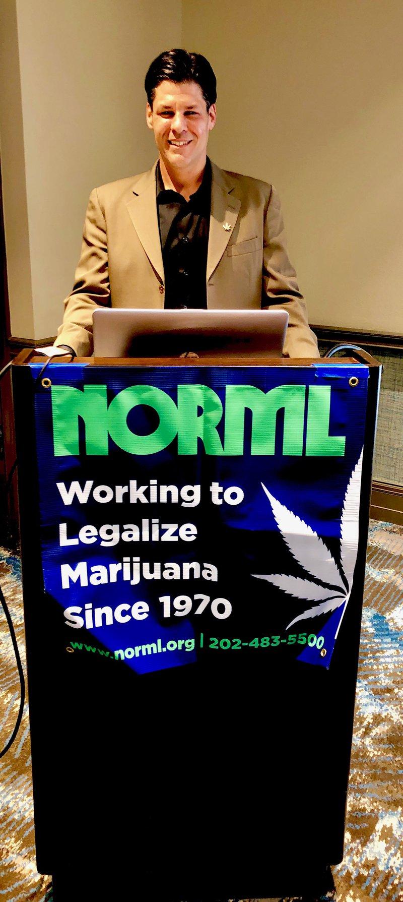 Greg NORML