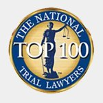 The Top 100 Trial Lawyers Badge
