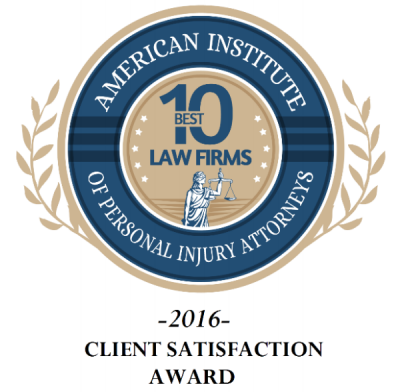 Top 10 law firms badge