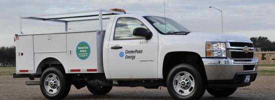 CenterPoint Energy Truck