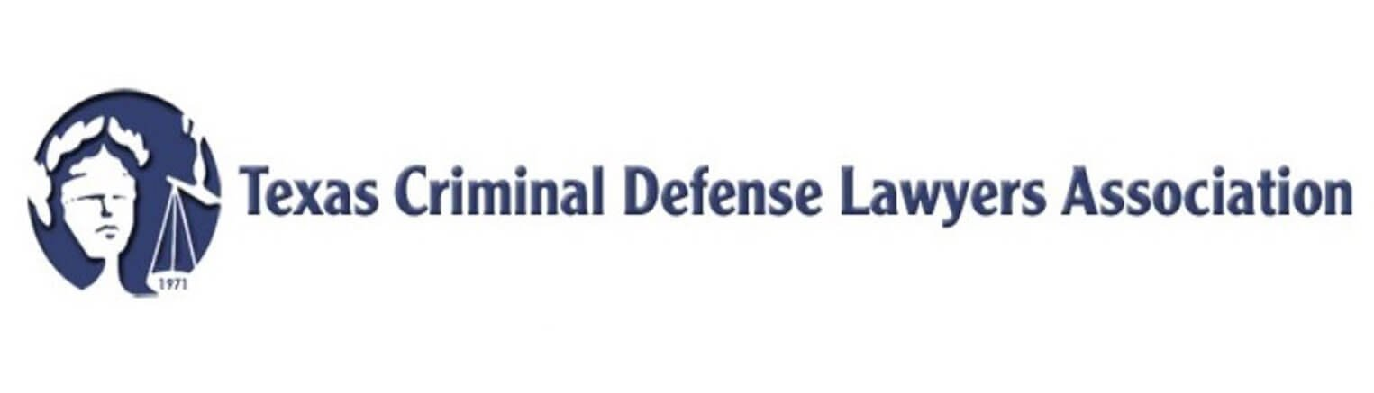 Texas criminal defense lawyers associations badge