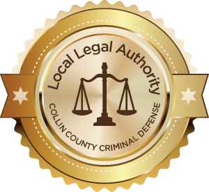 Local Legal Authority Collin County Criminal Defense Badge