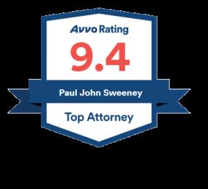 Avvo Rating Top Attorney 9.4