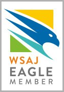 WSJA Eagle Member badge
