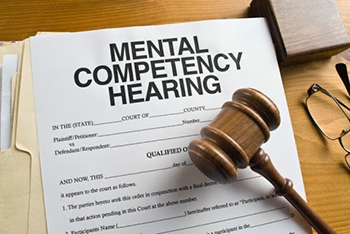 "files with the words ""mental competency hearing"""