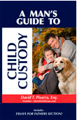 Book Cover for a Man's Guide to Child Custody