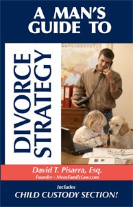 Book Cover for a Man's Guide to Divorce Strategy