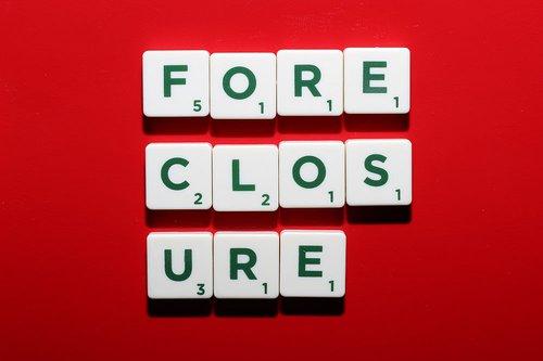 Foreclosure scrabble tiles