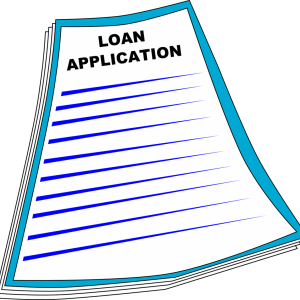 loan application papers