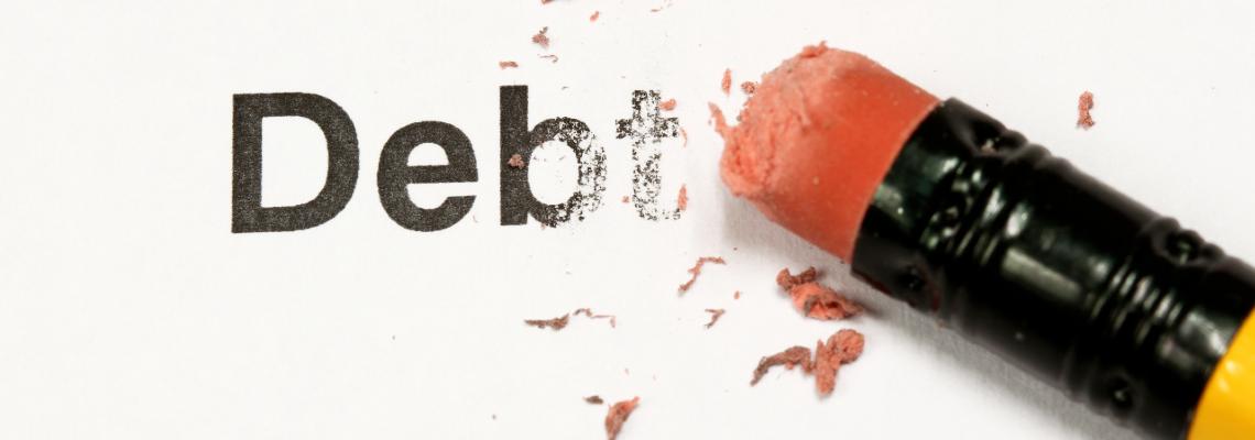 Erasing the word debt