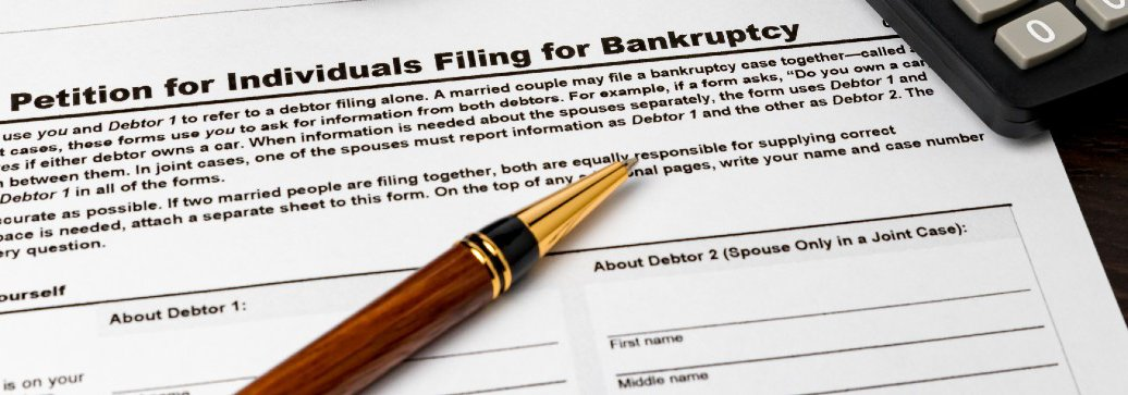 Petition for individuals filing for bankruptcy form
