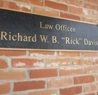 Rick Davis Plaque