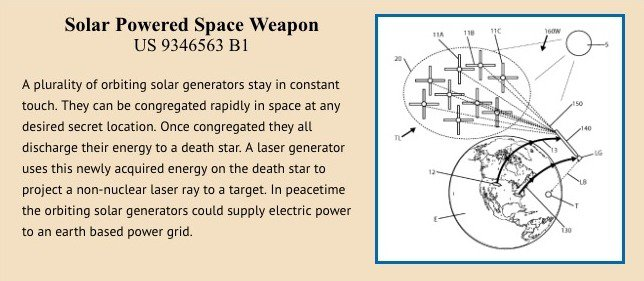 Solar powered space wagon patent