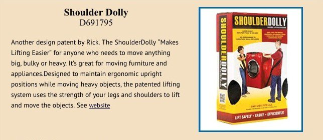 Should dolly patent