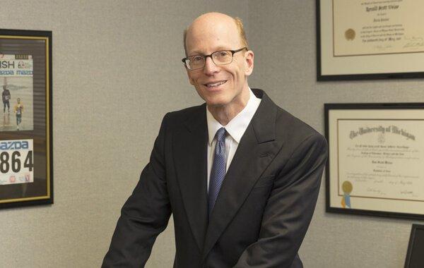Headshot of attorney Ronald Weiss