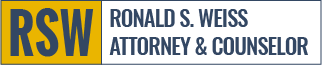 Ronald S. Weiss, Attorney