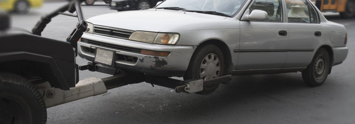 Car Being Repossessed