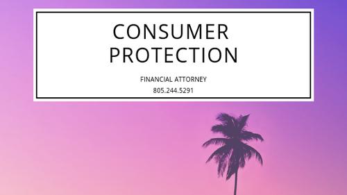 Oxnard Consumer Attorney Ventura