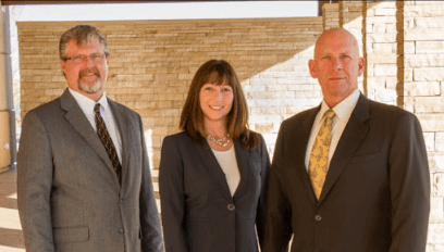 Attorney Scott Landry and Paralegals Bryan Brown & Mary Scott
